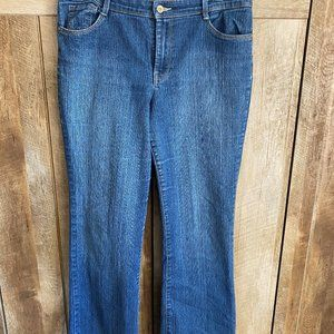 Size 14 Style and Company Medium Wash Jeans